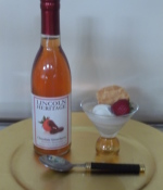 Sip our sinfully sensuous strawberry wine!